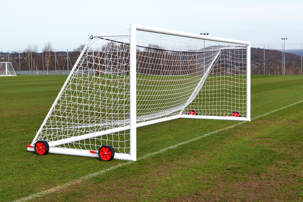 441d99a02 Free-standing 11-a side full-size goal (7.3m x 2.4m, 24ft x 8ft ...