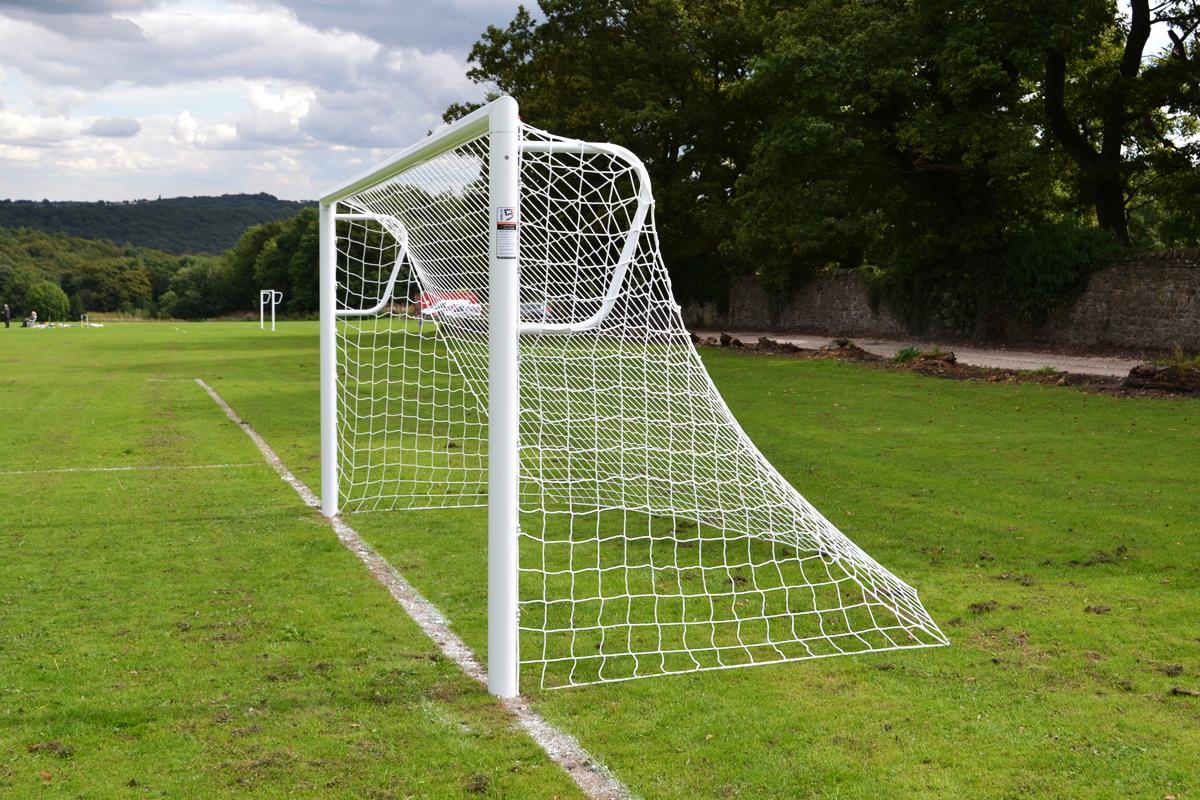 goalfix socketed mini soccer 9v9 goal