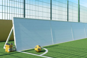 goalfix blind football_rebound boards front side view