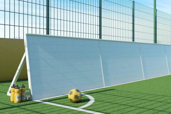 goalfix blind football_rebound boards front side view