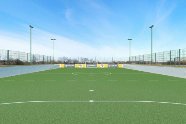 goalfix blind football_rebound boards_goalpost view
