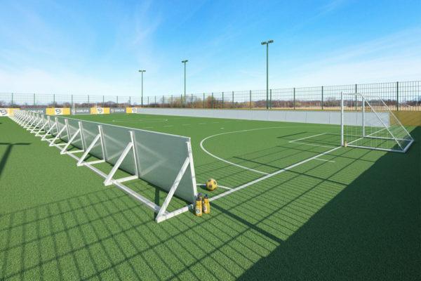 goalfix blind football_rebound boards_rear view