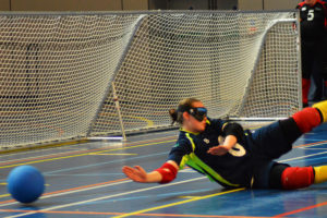 Goalfix lightweight goalball goal