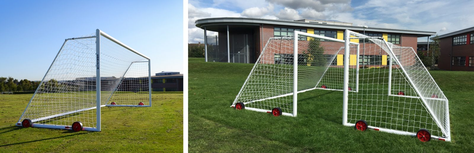 Goalfix Springwell Community college football goals