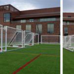 Goalfix Sports aluminium football goals at the Olympic Legacy Park – Sheffield